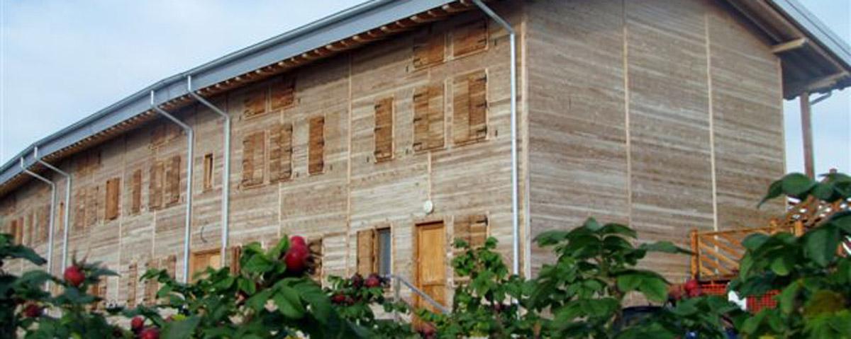 case di legno con bacche rosa HOME mod