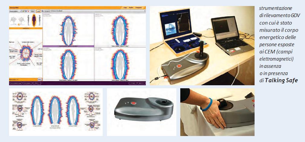 studi test e analisi medaglietta cellulare